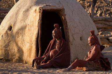 Himba women in the Purros Conservancy.
