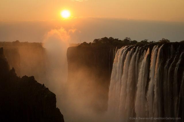 Zambezi River at Victoria Falls