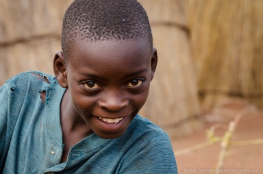 Local boy at Chief Makuni village, Zambia.